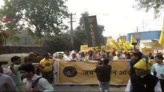 ಕೇಂದ್ರ ಸರ್ಕಾರದ ವಿರುದ್ಧ ಮತ್ತೆ ಆರಂಭವಾದ ರೈತರ ಪ್ರತಿಭಟನೆ