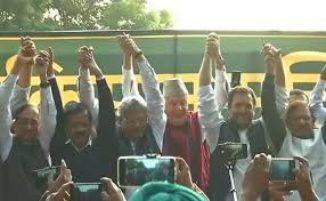 ರೈತರ ಪ್ರತಿಭಟನೆಗೆ ರಾಹುಲ್ ಗಾಂಧಿ, ಕೇಜ್ರಿವಾಲ್ ಬೆಂಬಲ
