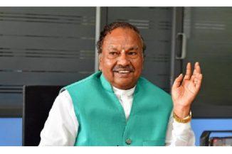 5612 ಕಿಮೀ ರಸ್ತೆ ಅಭಿವೃದ್ಧಿ: ಸಚಿವ ಈಶ್ವರಪ್ಪ